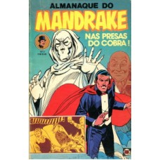 41178 Almanaque do Mandrake 3 (1980) Editora RGE