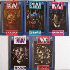33836 Um Conto de Batman 1 2 3 4 5 (1991) Shaman Editora Abril