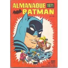 36907 Almanaque Batman (1971) Editora Ebal