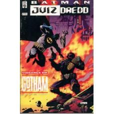 39139 Batman Juiz Dredd (1995) Vingança em Gotham Editora Abril