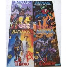 39141 Batman no Túnel do Tempo 1 2 3 4 (1995) Editora Abril