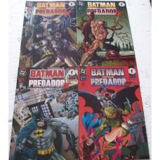 39160 Batman Versus Predador 1 2 3 4 (1996) Editora Abril
