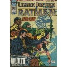27985 Liga da Justiça e Batman 14 (1995) Editora Abril