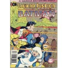 32427 Liga da Justiça e Batman 4 (1994) Editora Abril