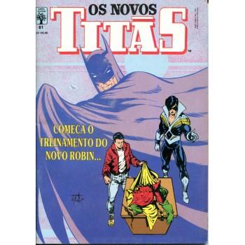 Os Novos Titãs 61 (1991)