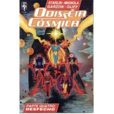 32463 Odisséia Cósmica 4 (1990) Editora Abril