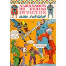 34951 Almanaque de Férias Invictus (1970) Editora Ebal