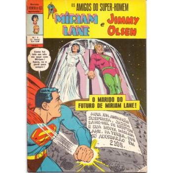 35035 O Homem de Aço 9 (1971) 1a Série Míriam Lane e Jimmy Olsen Editora Ebal