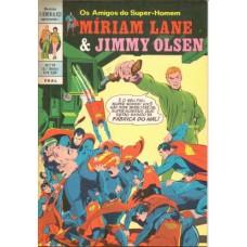 35054 O Homem de Aço 29 (1972) 1a Série Míriam Lane e Jimmy Olsen Editora Ebal