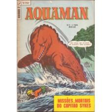 36927 Aquaman 2 (1969) 1a Série Editora Ebal