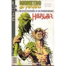 37790 Monstro do Pântano e Hellblazer 1 (1998) Editora Metal Pesado