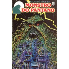 39265 Monstro do Pântano 9 (1990) Editora Abril