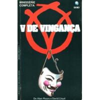 39341 V de Vingança (1990) Editora Globo