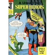 40379 Lançamento 23 (1970) 2a Série A Legião dos Super Heróis Editora Ebal