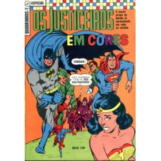 40603 Quadrinhos em Cores 1 (1969) Os Justiceiros Editora Ebal