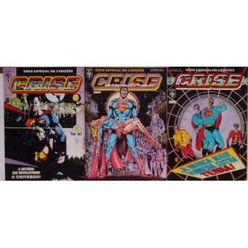 Crise Nas Infinitas Terras 1 2 3 (1989)