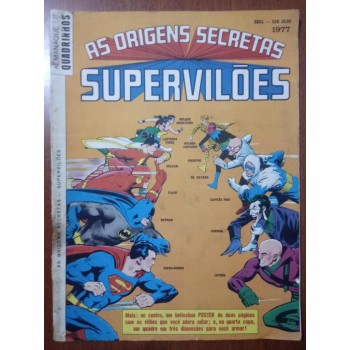 Almanaque de Quadrinhos (1977) As Origens Secretas dos Supervilões