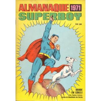 34957 Almanaque Superboy (1971) Editora Ebal