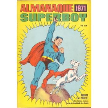 36916 Almanaque Superboy (1971) Editora Ebal