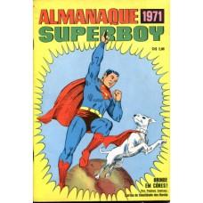 40098 Almanaque Superboy (1971) Editora Ebal