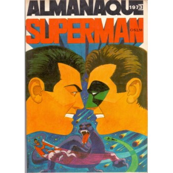 34961 Almanaque Superman (1973) Editora Ebal