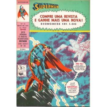 35204 Superman 33 (1975) 4a Série Editora Ebal