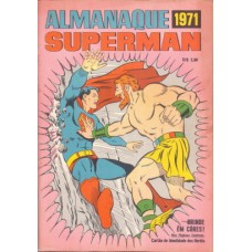 36918 Almanaque Superman (1971) Editora Ebal