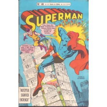 37236 Superman 48 (1980) 1a Série Editora Ebal