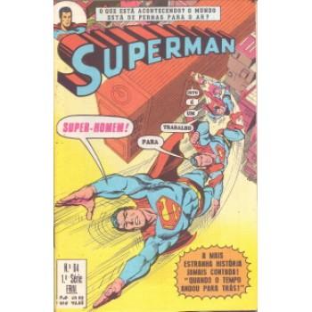 37240 Superman 64 (1981) 1a Série Editora Ebal