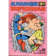 40102 Almanaque Superman (1971) Editora Ebal