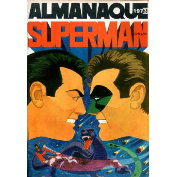 40104 Almanaque Superman (1973) Editora Ebal