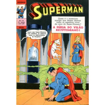 40748 Superman 79 (1970) 3a Série Editora Ebal