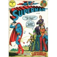 40864 Superman em Cores 35 (1974) Editora Ebal