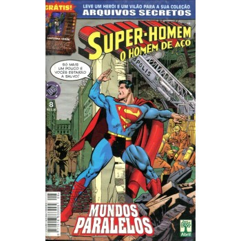 Super Homem 8 (1999) O Homem de Aço