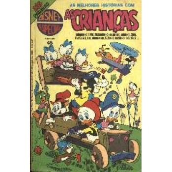 13123 Disney Especial 45 (1979) As Crianças Editora Abril
