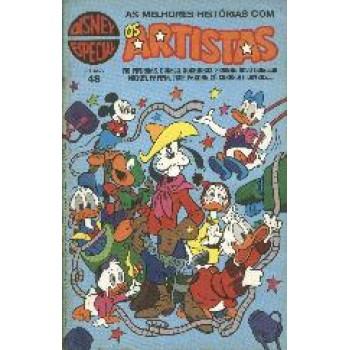 16585 Disney Especial 48 (1980) Os Artistas Editora Abril