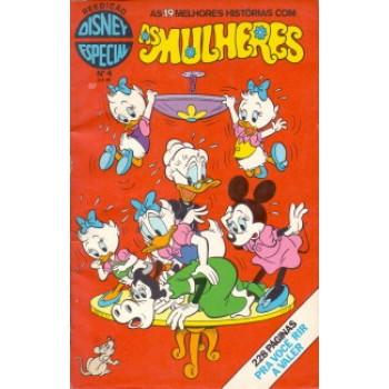 34280 Disney Especial Reedição 4 (1981) As Mulheres Editora Abril