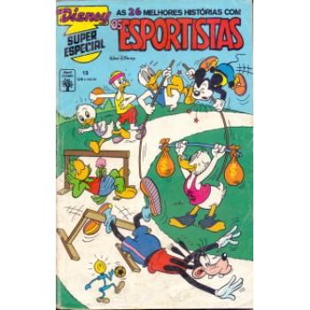 37661 Disney Super Especial 13 (1992) Os Esportistas Editora Abril