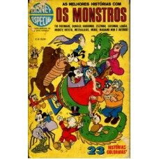 40938 Disney Especial 17 (1975) Os Monstros Editora Abril