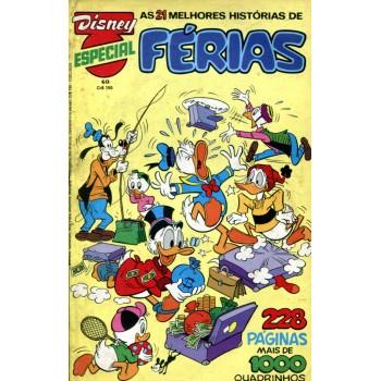 Disney Especial 60 (1981) Férias