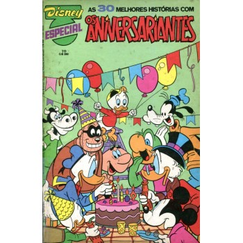 Disney Especial 70 (1983) Os Aniversariantes
