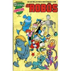 Disney Especial Reedição 44 (1988) Os Robôs