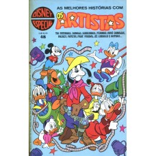 Disney Especial 48 (1980) Os Artistas