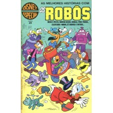 Disney Especial 49 (1980) Os Robôs