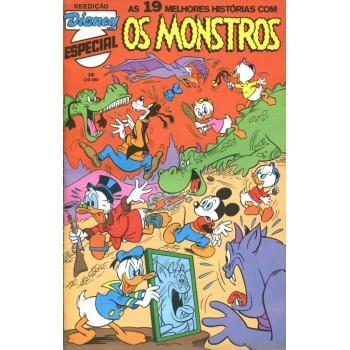 Disney Especial Reedição 16 (1983) Os Monstros