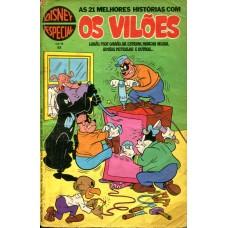 Disney Especial 52 (1980) Os Vilões
