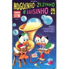 41109 Edição Extra 71 (1976) Huguinho Zezinho e Luisinho Editora Abril