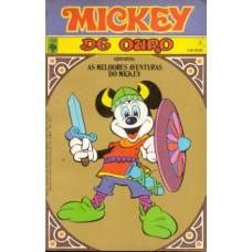 35377 Mickey de Ouro 1 (1979) Editora Abril