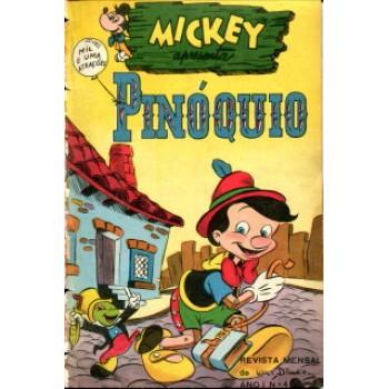 37904 Mickey 4 (1953) Editora Abril