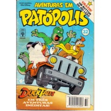 35335 Aventuras em Patópolis 32 (1995) Editora Abril